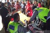 Seorang pegawai Bank Kalteng tewas mengenaskan usai terlindas truk