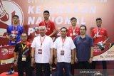 Kontingen DKI Jakarta dominasi juara Kejurnas PBSI 2019