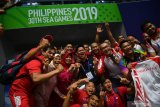 Tambah 12 emas, Indonesia kokoh di posisi dua SEA Games 2019