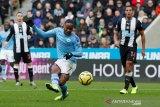 Manchester City gagal memangkas jarak usai ditahan imbang Newcastle 2-2