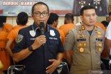 Polres ungkap kasus narkotika jaringan tiga provinsi