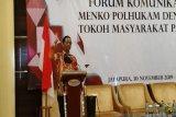 Menko Polhukam hadiri pertemuan dengan tokoh masyarakat Papua di Jayapura