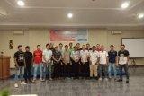Tatahadeng Redspur FC Gelar Sosialisasi Mitigasi Bencana Erupsi Gunung Karangetang