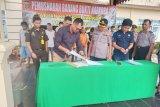 Polisi musnahkan 2 kg sabu-sabu dan 2.000 butir pil ekstasi