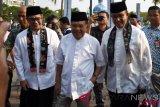 Bertemu JK, Anies Baswedan bicarakan Masjid Apung Ancol jadi ikon masjid unik