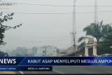 Kabut asap masih menyelimuti Mesuji