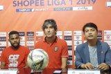 Kesebelasan Bali United tantang Semen Padang