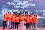 Pebalap Indonesia tercepat di ajang Muba  Auto Asia Gymkhana