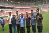 Mendagri tinjau stadion Papua Bangkit di Kampung Harapan Jayapura
