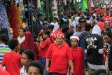 Suasana Menyambut Natal Di Kota Jayapura