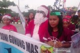 Ratusan umat Kristiani Gumas ikuti Parade Natal