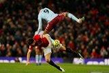 Liga Inggris -- Manchester United ditahan imbang Aston Villa di Old Trafford