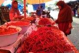 Harga cabai merah di Agam turun Rp16 ribu per kilogram