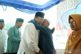 Pemkab Musi Banyuasin berangkatkan  140 warga umroh
