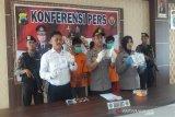 Empat pemakai dan pengedar ganja di Temanggung ditahan