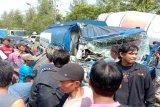 Sopir truk kaget picu kecelakaan karambol di Tegal