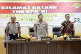 Tim Wasrik BPK RI kunjungi Polda Sulawesi utara