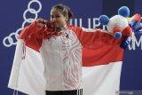 Lifter Putri Aulia Andriani tidak gugup hadapi SEA Games pertamanya