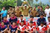 Bupati Pesisir Selatan buka turnamen sepakbola se-Kecamatan Koto XI Tarusan