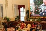 Jokowi tegaskan tidak boleh ada kekerasan terhadap perempuan