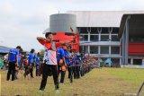 Ratusan atlet tingkat pelajar ikuti Kerjurnas Panahan di Kalteng