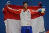 Edgar persembahkan 2 medali emas untuk mendiang ayahnya