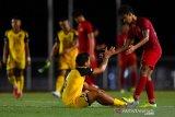 Penampilan Kapten Timnas U-22 Andy Setyo dapat pujian dari pelatih Brunei Darussalam