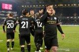 City hantam Burnley demi duduki posisi kedua Liga Inggris
