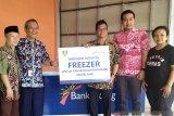 Bank Jateng bantu freezer pedagang Pasar Rejowinangun