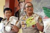 Polisi sita 3,2 kilogram sabu dari pelaku yang ditembak mati