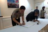 Polri dan LKBN Antara tandatangani MoU bidang kehumasan