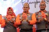 KPU luncurkan maskot pemilihan Gubernur Kalteng
