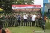 Dandim Jayawijaya uji kemampuan danramil dan babinsa