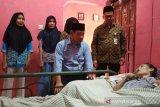 BPJAMSOSTEK Kudus kunjungi pekerja yang alami kecelakaan kerja
