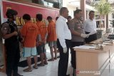 Polisi mengamankan oknum polisi terlibat peredaran narkoba