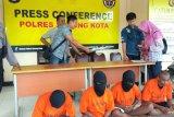 Polres Sorong kota tangkap empat pencuri yang beraksi dengan kekerasan