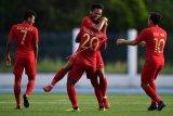 Timnas Indonesia U-22 ke semifinal setelah tekuk Laos 4-0