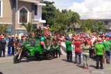 Ribuan umat Kristiani di Biak gelar parade menyambut Natal