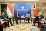 Menlu RI Retno Marsudi lakukan pertemuan bilateral di ajang BDF ke-12