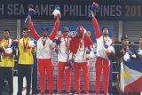 Voli pantai beregu putra raih emas SEA Games 2019