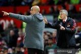 Man United belum jadi penantang gelar, kata Pep Guardiola
