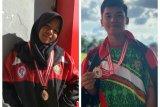 Duat atlet panahan Bartim raih perunggu di Kerjurnas Panahan PPLP 2019
