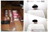 Polisi sita ratusan butir ineks dan puluhan gram sabu-sabu
