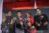 Lima pewarta foto ANTARA raih Anugerah Pewarta Foto Indonesia
