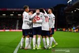 Liverpool diuntungkan hasil Derby Manchester, puncaki klasemen sementara Liga Inggris