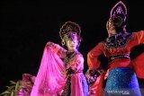 Tarian kolosal Nyimas Melati ditampilkan pada Festival Budaya Nusantara III