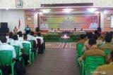 Bupati buka Bimtek pengelolaan BUMKep dan pembinaan keuangan desa se-Rohil