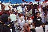BPN bagikan 800 sertifikat tanah gratis warga Kendari