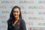 UNAIDS National tunjuk Atiqah Hasiholan sebagai Goodwill Ambasador Indonesia