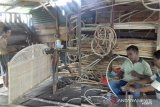Mengintip geliat usaha kerajinan rotan Pekanbaru yang berdayakan pengangguran